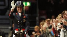 Double Olympic champion Charlotte Dujardin