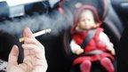 Car smoke ban 'to start in October'