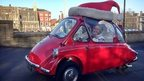 Norwich Santa bubble car