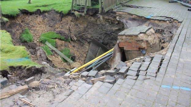 Upper Basildon sinkhole