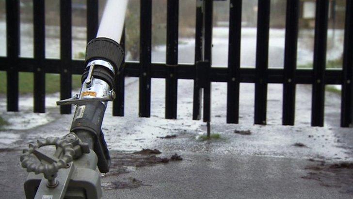 Flood pumps on Abingdon Road