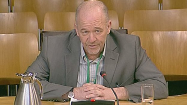 Scotland's Commissioner for Children and Young People Tam Baillie