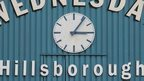 Hillsborough clock