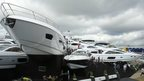 Sunseeker display at Southampton International Boat Show