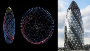 Computer design of the Gherkin