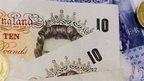 Money and wage slip