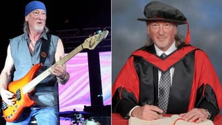BBC News - Deep Purple's Glover an honorary fellow of South Wales University