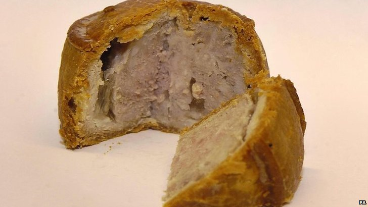 A picture of a Sainsbury's Melton Mowbray Pork Pie
