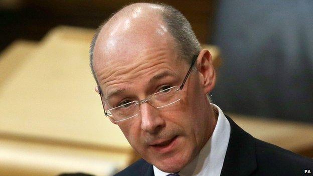 Scottish Finance Minister John Swinney