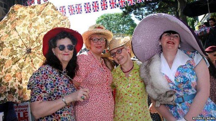 1940s weekend in Haworth