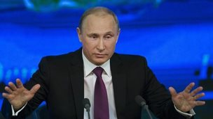Russian President Vladimir Putin, 18 Dec