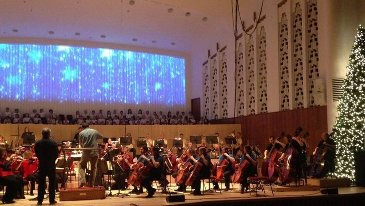 Philharmonic rehearsals