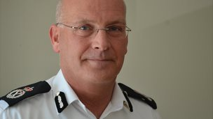 Patrick Rice, Guernsey's head of law enforcement