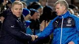 Ally McCoist and coach Ian Durrant