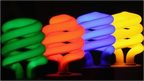 Coloured lightbulbs