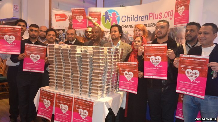 ChildrenPlus has launched its winter campaign called From Brick Lane with Love.