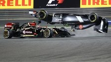Maldonado crahes in Bahrain