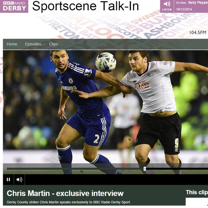 Chris Martin - exclusive interview