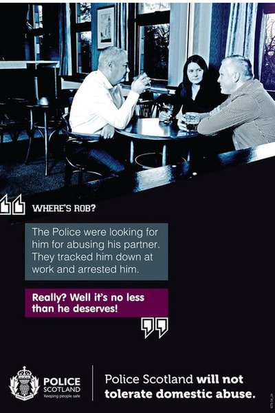 Domestic abuse poster