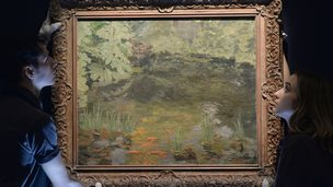 The Goldfish Pool at Chartwell by Winston Churchill