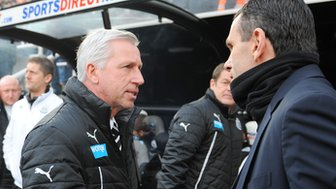 Sunderland boss Gus Poyet and Newcastle manager Alan Pardew