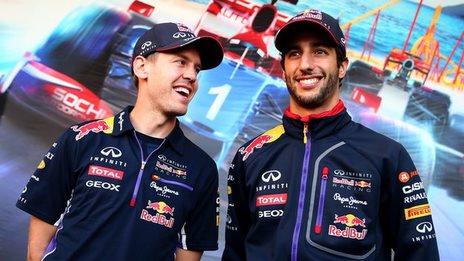 Sebastian Vettel & Daniel Ricciardo