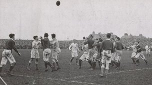 Scotland vs England, March 1914