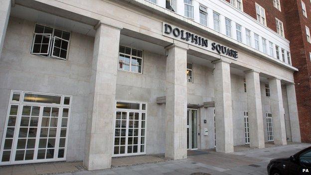 Dolphin House estate