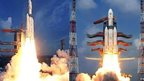 The GSLV Mk-III spacecraft has been launched into space