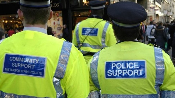 Police support officers