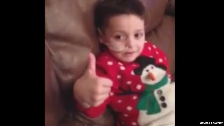 Bradley giving the thumbs up