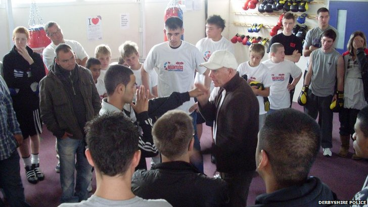 Ozbox class with Brendan Ingle