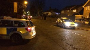 Police cars in Chelmsford