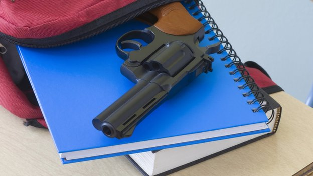Image result for students with guns