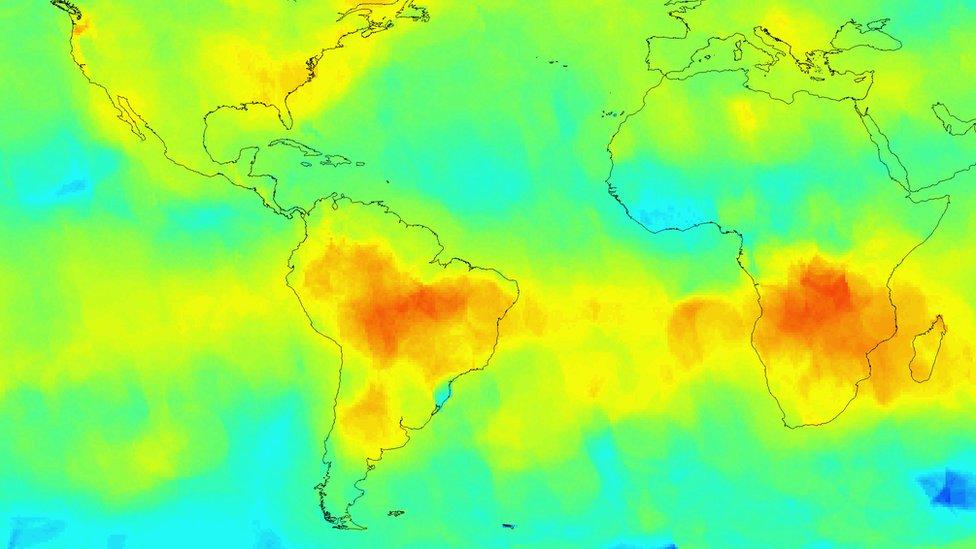 Carbon dioxide satellite mission returns first global maps ...