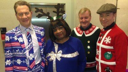 Michael Portillo, Diane Abbott, Charles Kennedy and Tony Parsons