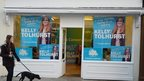 Conservative party posters for candidate Kelly Tolhurst in the Rochester and Strood by-election