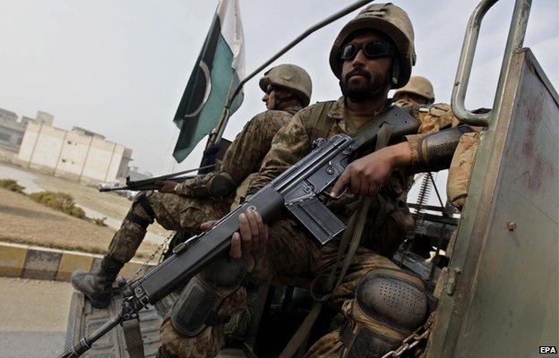 79833161 79833160 - Pakistani  Taliban :  Army  Kills '59 Militants