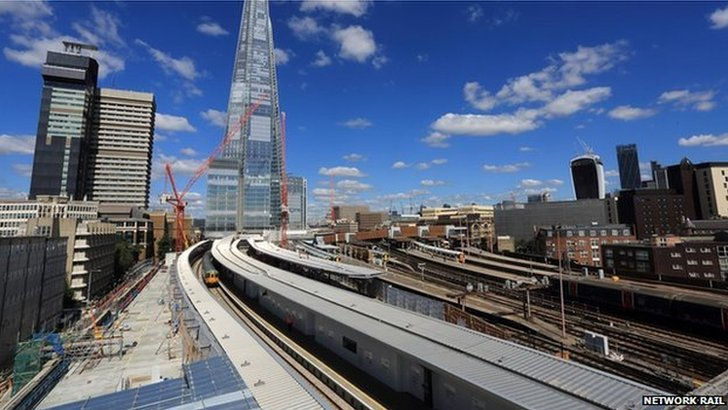 New platforms at London Bridge