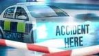 Police accident graphic
