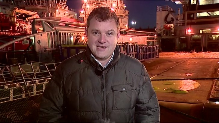 Dominic Laurie, BBC Breakfast