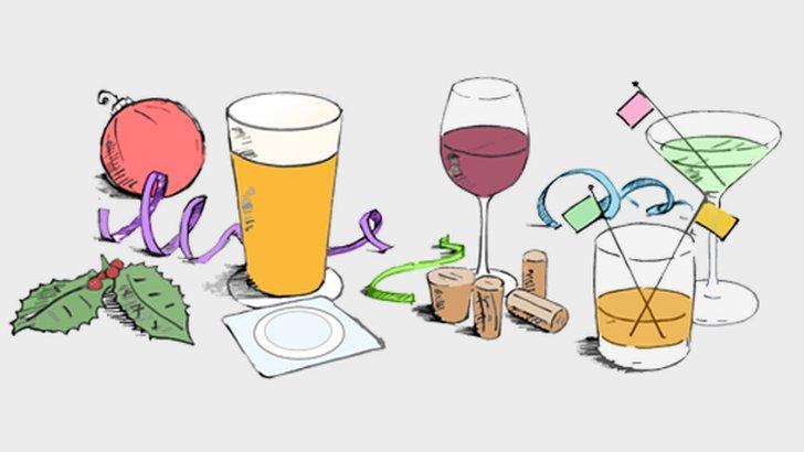 Alcohol graphic