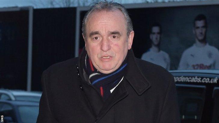 Rangers chief executive Derek Llambias