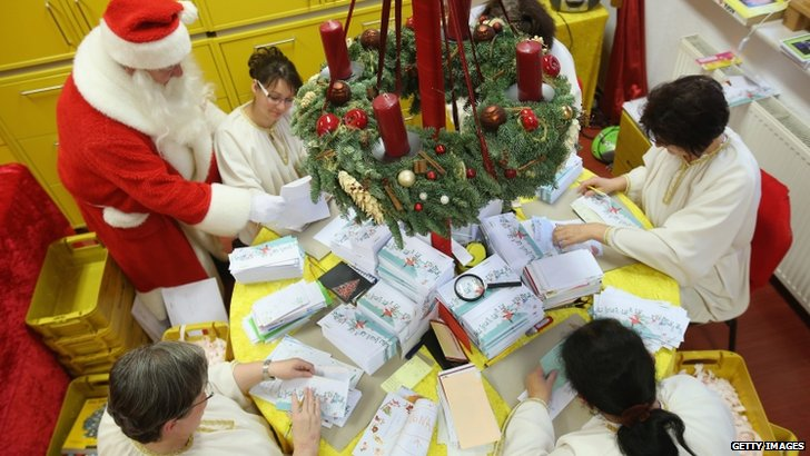 Santa and his 'angels' respond to Christmas letters