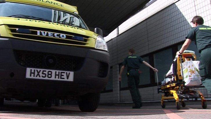 Ambulance and paramedics