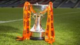 The Scottish League Cup trophy