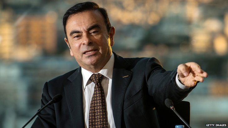 Carlos Ghosn, Nissan president