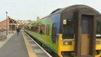 Train from Aberystwyth