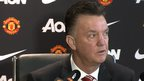 VIDEO: Masseur call interrupts Van Gaal