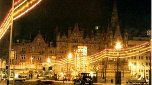 Christmas Lights in Manchester
